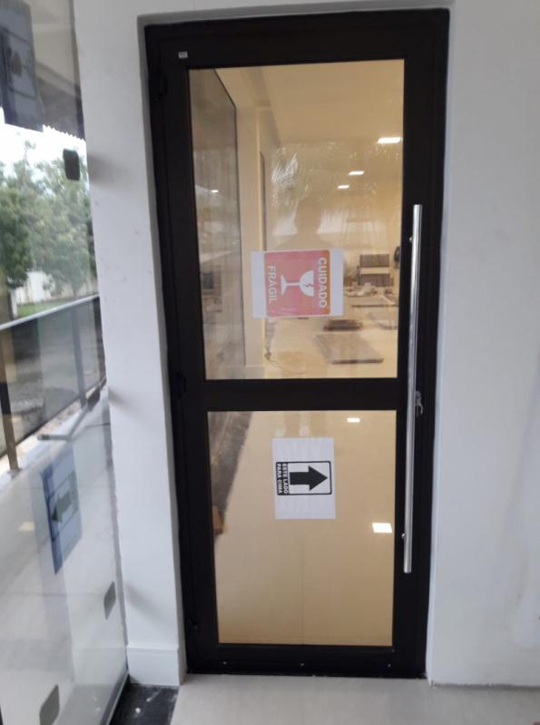 Instalação de Porta Janela Acústica Alphaville Conde II - Porta Acústica para Apartamento