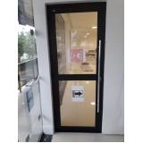 instalação de porta janela acústica na Vila Leopoldina
