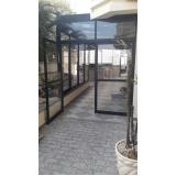 janela acústica de PVC Sacomã