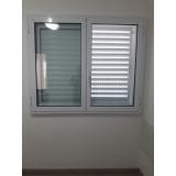 janela acústica de PVC