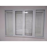 janela de alumínio para lavanderia