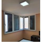 janelas para construção civil preço Residencial Doze