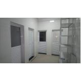 porta automática antipânico Residencial Quatro